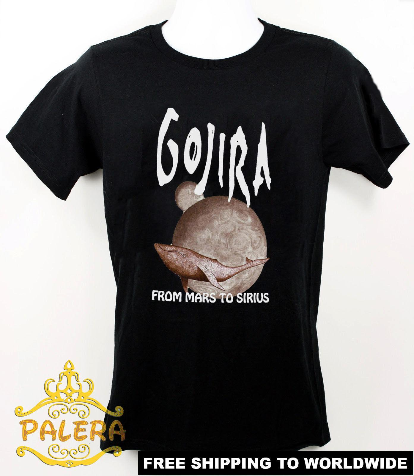 cd47588e8ad1 Official Gojira Men Black T Shirt Metal Band Fan Tee Shirt From Mars S XXL Buy  Tee Top T Shirt Sites From Happytshirt53, $11.58| DHgate.Com