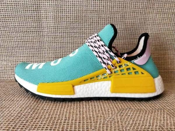 huge selection of 0449d c0f49 Wholesale High Quality 2018 NMD Human RACE Pharrell Williams Hu trail NERD  Men Womens RunnING ShOes NMD XR1 Sports ShOes Size 36-46