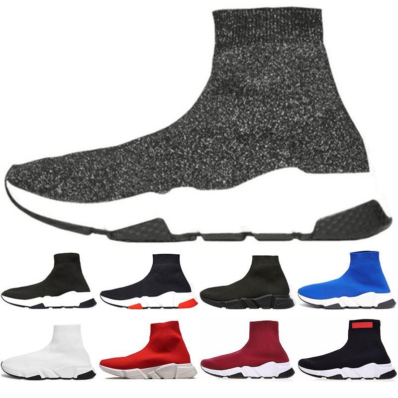 Red Speed De Lujo Trainer Black Zapatillas Triple Casuales Mujeres Zapatos Balenciaga Hombres Diseño Mujer Para 3AL4Rq5j