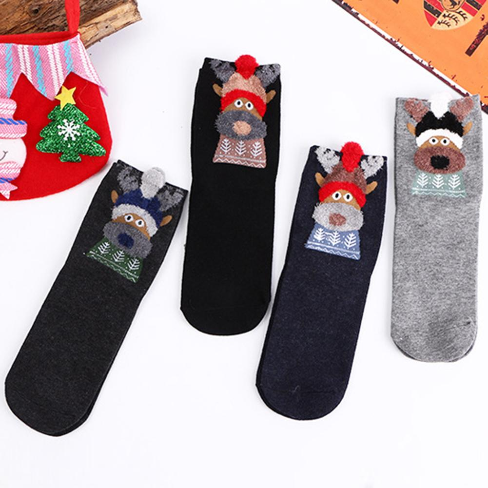 Underwear & Sleepwears Trend Mark Fashion Funny Socks Man Cute Novelty Street Style Hip Hop Socks Men Cotton Casual Tube Socks For Male Streetwear Meias Sokken Customers First