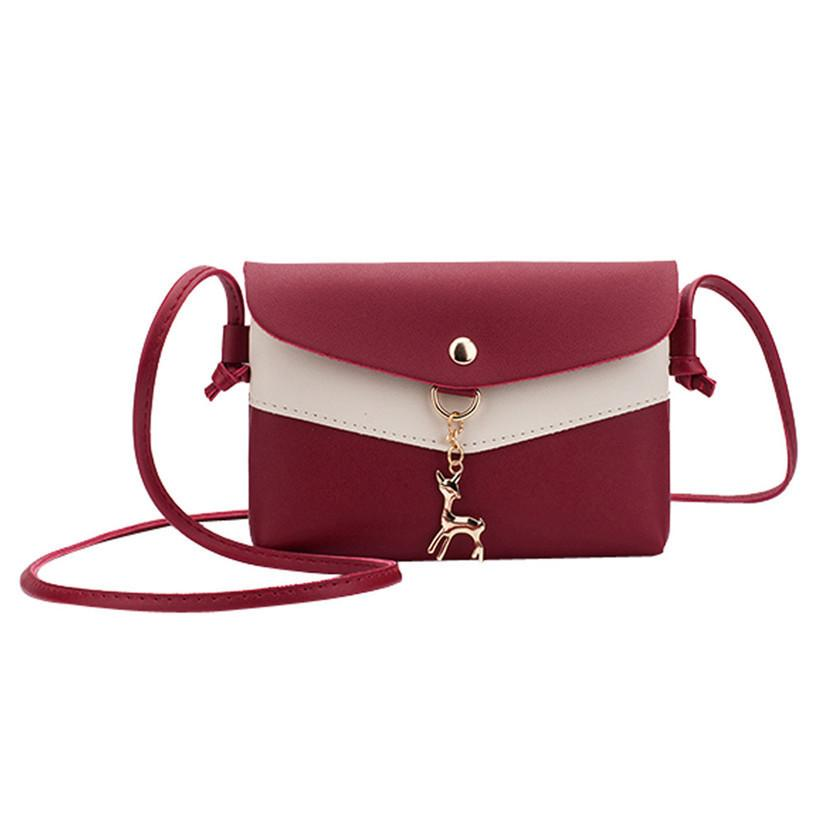 1d77a70d4b46 Cheap PU Leather Women Messenger Bags Female Handbags Ladies Shoulder Bag  Fashion Party Envelope Cross Body Bag Evening Clutch Mochila Pink Handbags  Branded ...