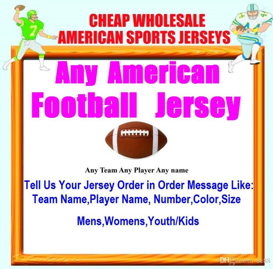 Benutzerdefinierte American Football Trikots Kansas City Team College authentischen Retro-Rugby-Fußball Baseball Basketball Hockey Trikot 4xl 5xl 7xl York