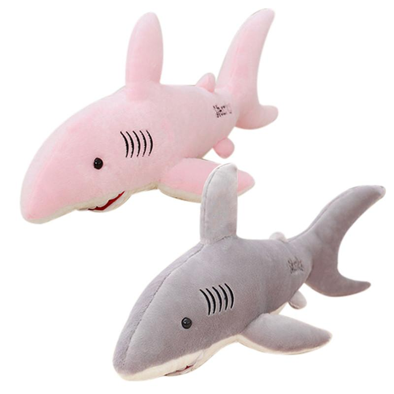 Toys & Hobbies Plush Toy Cartoon Shark Cushions Pillow Doll Filled Animal Pillow Toys Kids Gift Home Decor For Christmas Stuffed & Plush Animals