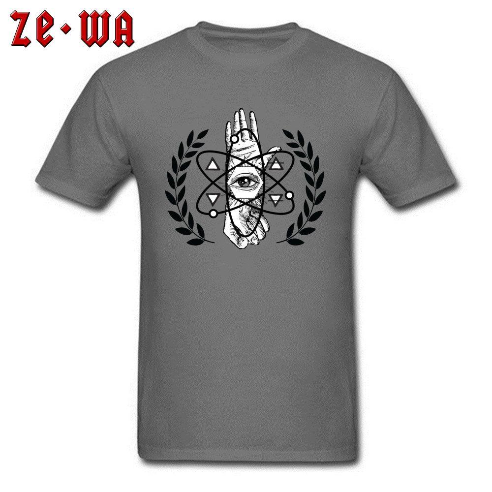 Grosshandel Rebell Guys Tshirt Manner Eye Print T Shirt Sommer