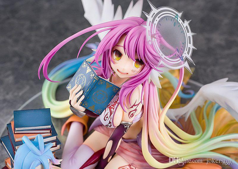 NO GAME NO LIFE Jibril Sexy Anime Action Figure Art Girl Big Boobs Tokyo Japan Adult Products Hot Sale New Arrcval Free Shipping