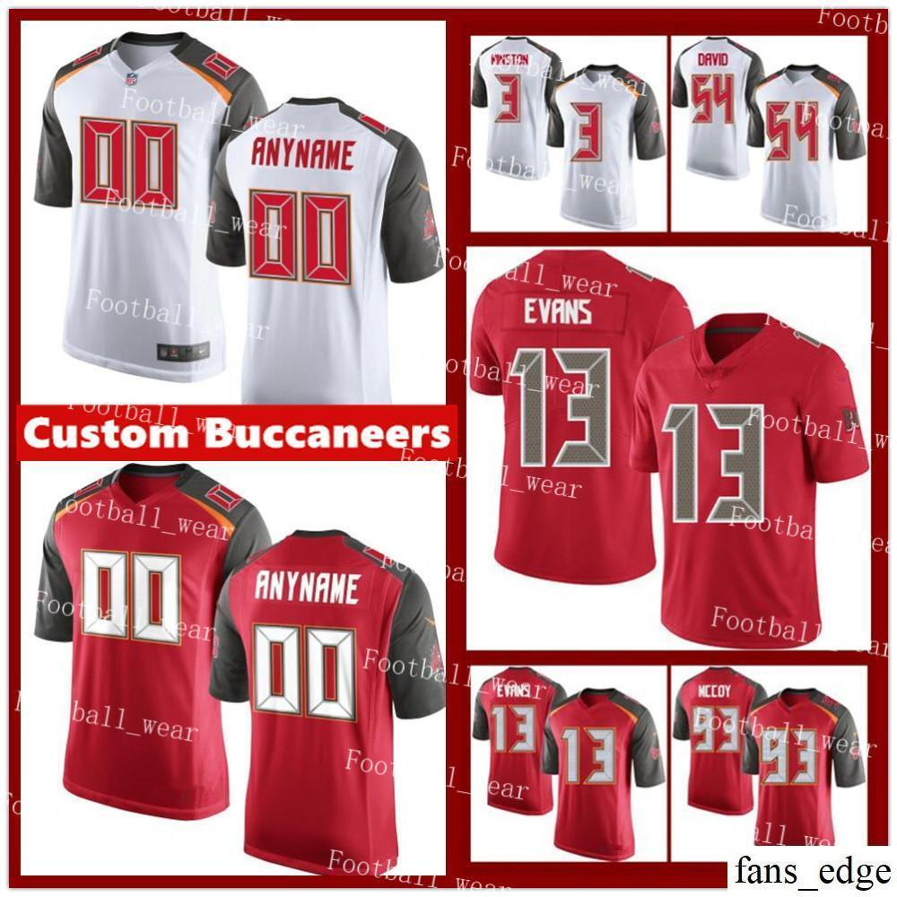 the latest b971f 7af3b Mens Women Youth Custom Tampa Bay Buccaneers Jersey 12 Chris Godwin 47 John  Lynch 11 DeSean Jackson 12 Doug Williams 93 McCoy