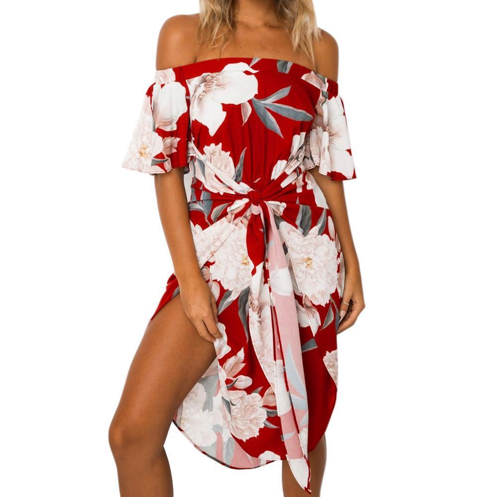 Semi Formal Print Dresses
