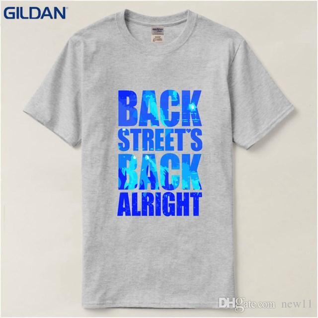 daa93ed3 2019 Men S Designer Clothing Tshirt Men S Short Sleeve Graphic Crew Neck  Backstreet Boys Rock Band As Long As You Love TShirt Crazy Tshirts Buy  Tshirt From ...