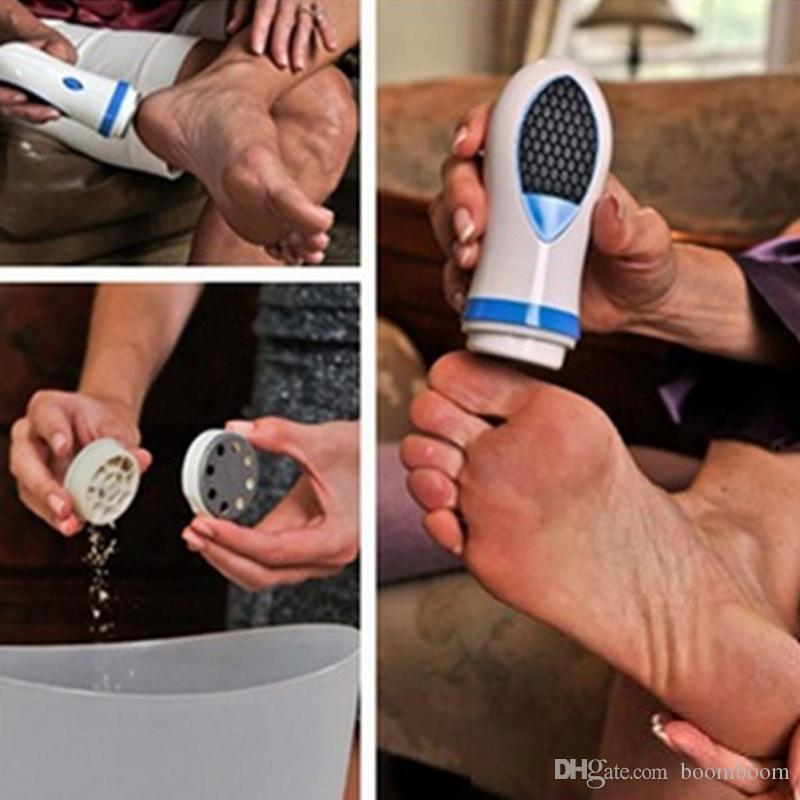 docooler PediSpin Electronic Foot Callus Removes Calluses Dry Rough Skin Corn Remover Shaver File Foot Care Pedicure by boomboom