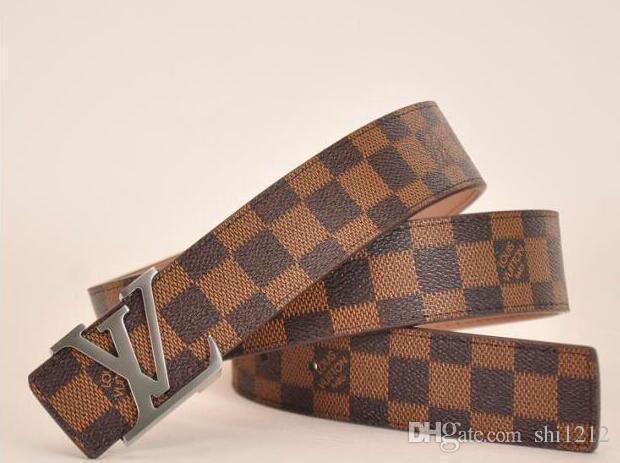 9654f1642644 Mens Belts Fashion Designer Belt Accessories Men Metal Letters ...