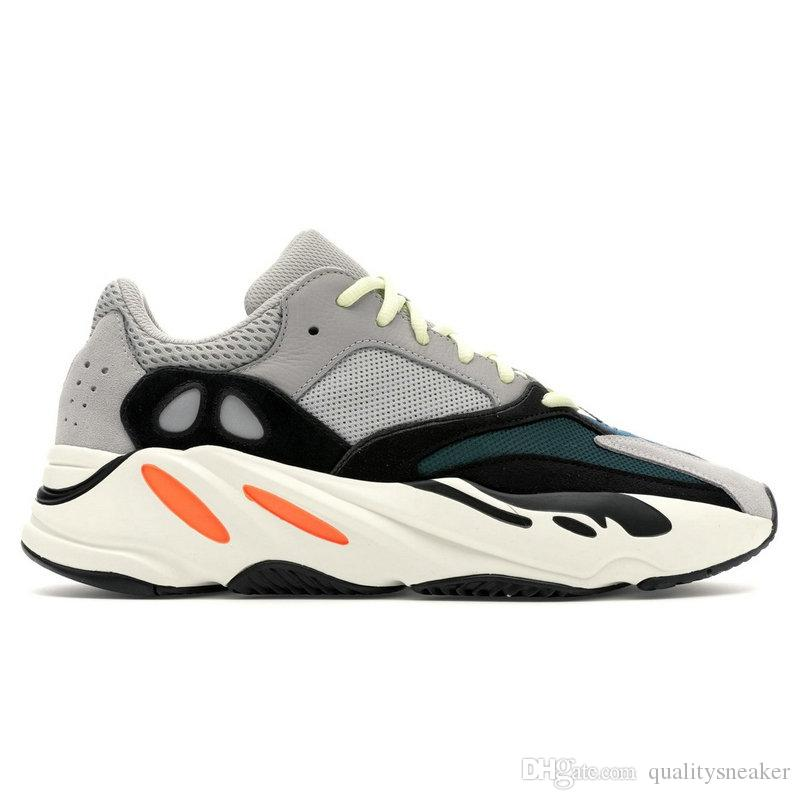 0476c1dfa 2019 Wave Runner 700 V2 Static Inertia OG Solid Grey Mauve Mens Kanye West  Running Shoes Best Quality Women Fashion Sports Athletics Sneakers From ...
