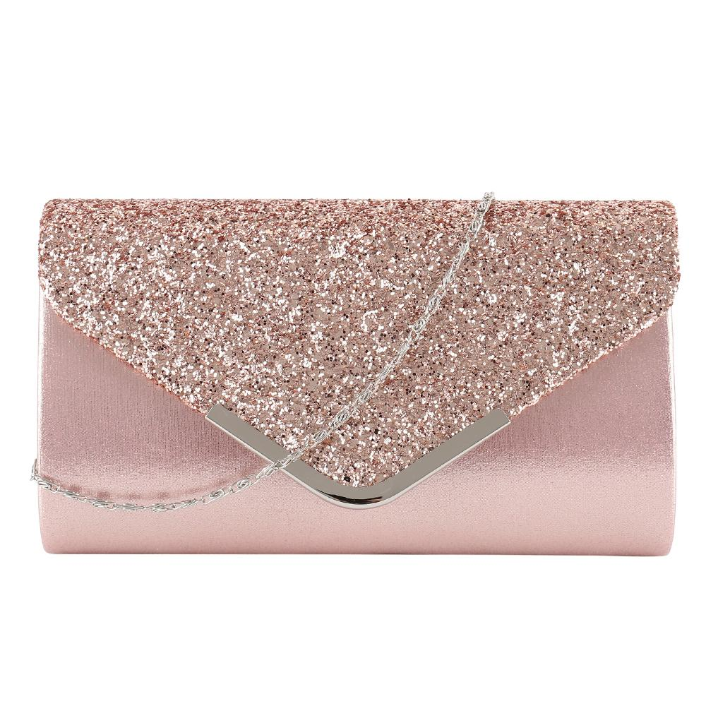 Women's Clutch 2019 Diamante Ladies' Evening Purse Vintage Chain Wallet Party Envelope Phone Handbag Bolsa Feminina Y19061301