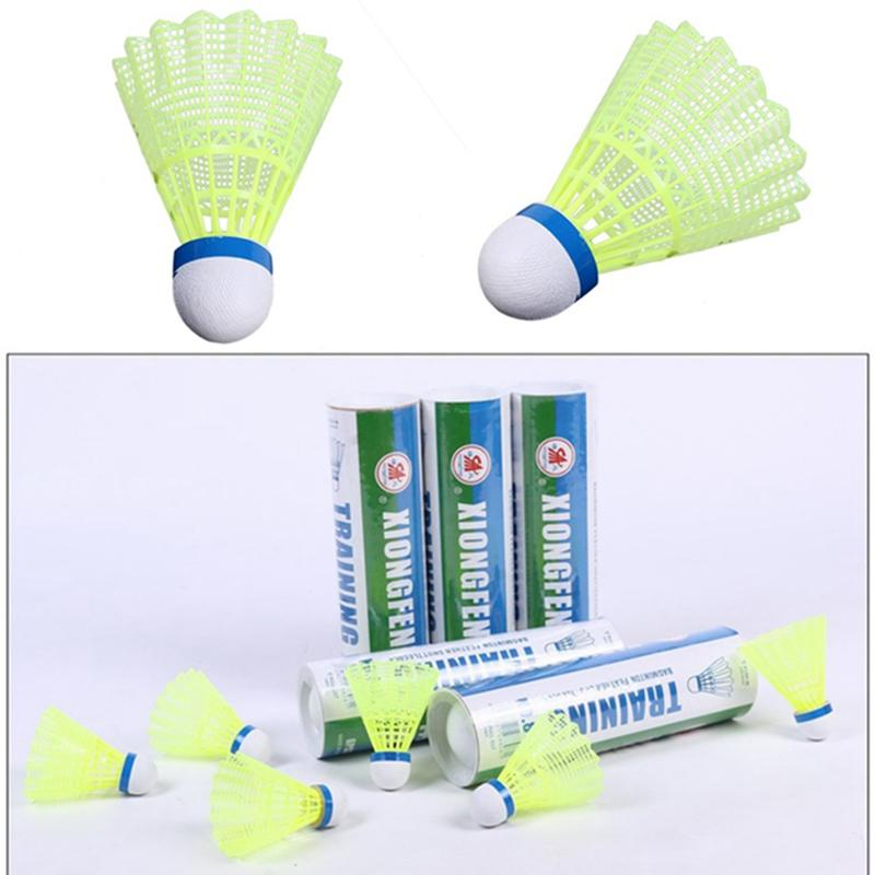 Professional Badminton Ball Birdies Training Sporting Goods Tennis & Racquet Sports 6pcs Shuttlecocks