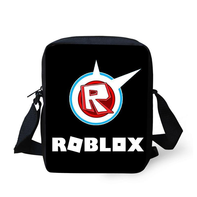 Games Roblox Toys Messenger Bags Cartoon Personality Bags For Kids Crossbody Bookbag For Children Boys Girls Schoolbag Satchel