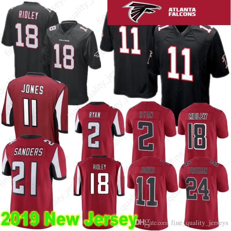 Hot Limited 11 Julio Jones Atlanta Falcons 2 Matt Ryan 18 Ridley Jersey  for cheap
