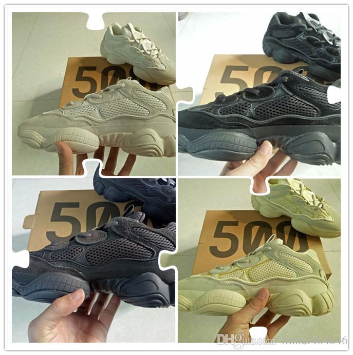 18693bc31f123 Compre New Desert Rat 500 Salt Super Moon Yellow Utility Black Blush  Designer Shoes 500 Cow Leather Shoes Zapatillas Reflectivas 3M Sin Caja A   68.4 Del ...