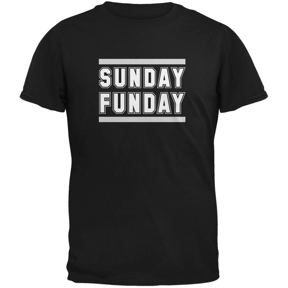 a9091325f Sunday Funday Oakland Black Adult T Shirt Funny 100% Cotton T Shirt Cool  Tshirt Designs Create T Shirt From Lookcup, $16.24| DHgate.Com