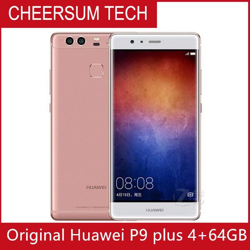 Global firmware Huawei P9 Plus 5 5 inch 4GB RAM 64GB ROM Android 6 0 12 0MP  Camera Octa Core Smart Phone Kirin 955 Fingerprint