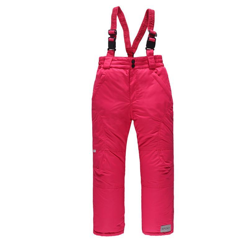 ce709dc27b Compre OLEKID 30 Grados Para Niños De Invierno Rusos Pantalones Calientes A  Prueba De Viento Pantalones De Esquí Impermeables Para Niños 3 16 Años ...