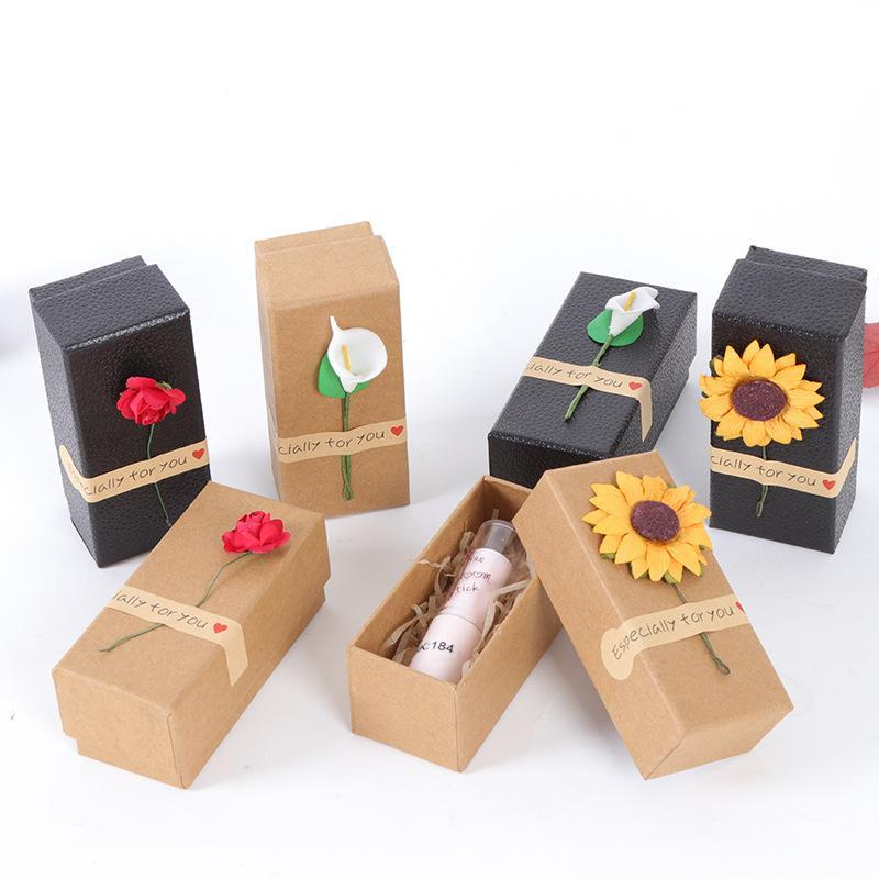 High Quality Kraft Paper Lip Packing Boxes ,Empty Lipstick Tubes Packing Boxes ,Elegant Lip Packing Box Lz1680