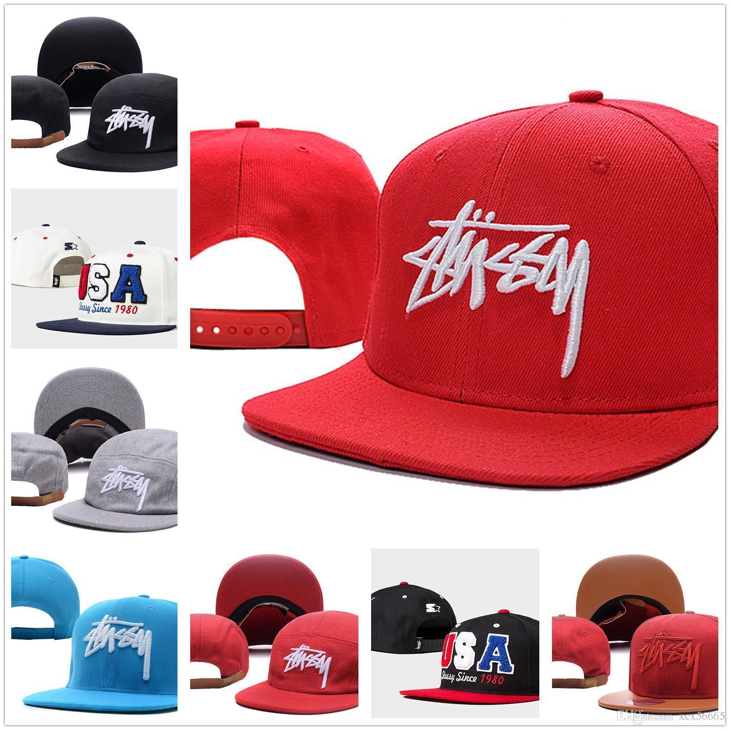 Fashion New arrival Stussy footballl snapback hat Michael men women adjustable baseball hats hiphop sports cap