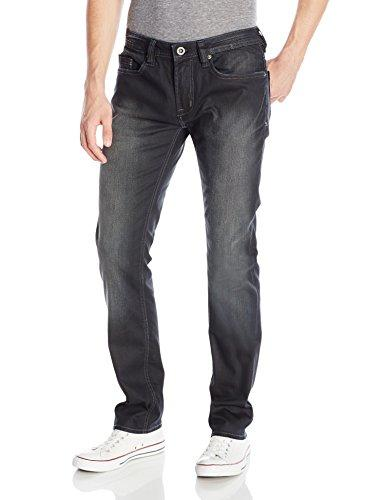 Buffalo David Bitton Herren Evan Slimmer Slim Denim Jean in Lightly Sanded