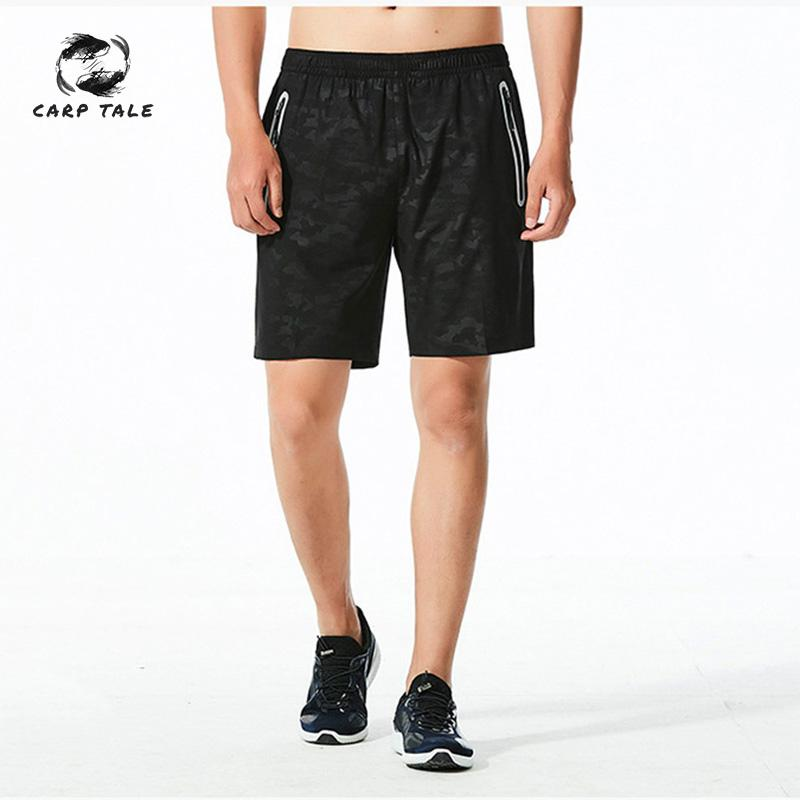 Factory wholesale direct outdoor summer training loose large size breathable men's sports fitness running five points shorts