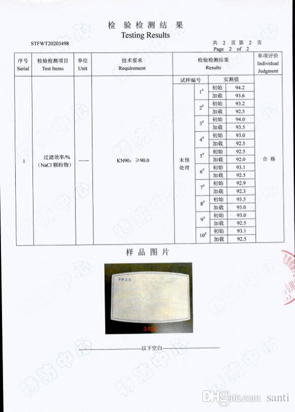 papel contra el polvo máscara de filtro de papel de filtro nuevo hogar PM2.5 anti Haze Máscara cuidado de la boca