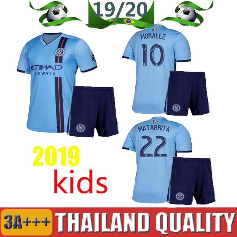 47274107b20 2019 2019 New York City Kids Kits Football Shirts Home 19 20 Mls