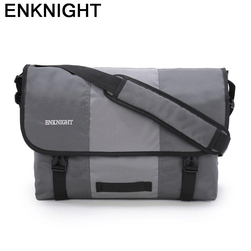 812d6efaebf70 ENKNIGHT Messenger Bag Big Briefcase Laptop IPad Cross Body Shoulder ...