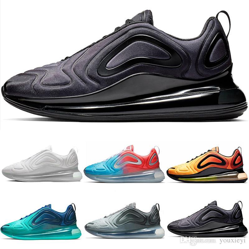 nike air max 720 shoes 2019 envío gratis Hombres y mujeres zapatos al aire libre sky eye 8 colores zapatos estilo negro EUR 36 45