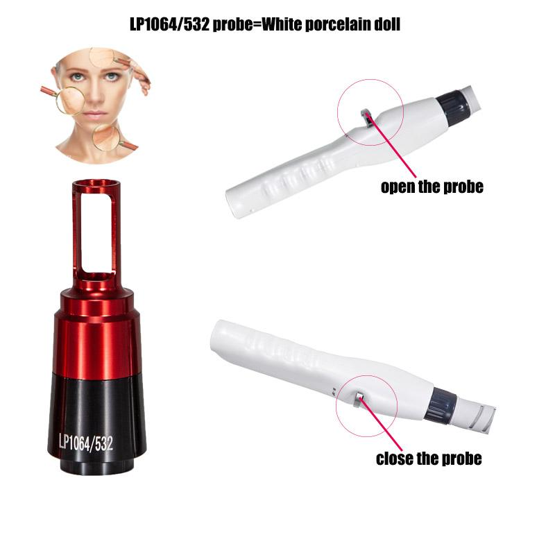Portable picosecond tattoo removal laser machine q switched nd yag pico laser pigment removal pico laser spot acne removal free shipment