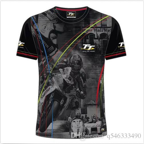 Men Man's Mountain course map Isle of man TT Tees Shirt Short dries quickly