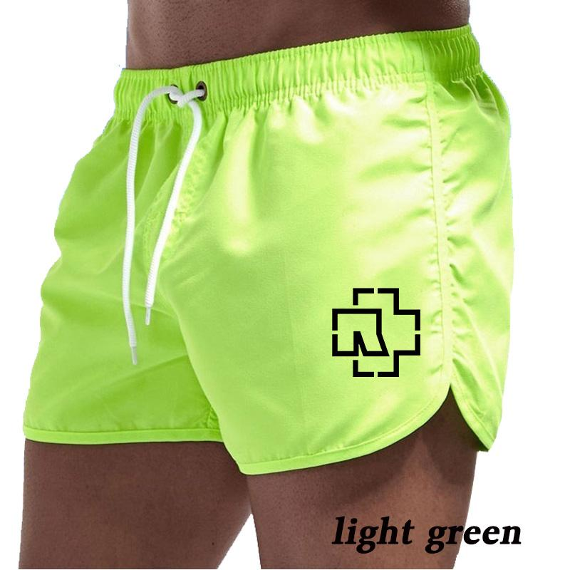 Summer Beach Shorts Quick-Drying Shorts Printed Swim Casual Fitness