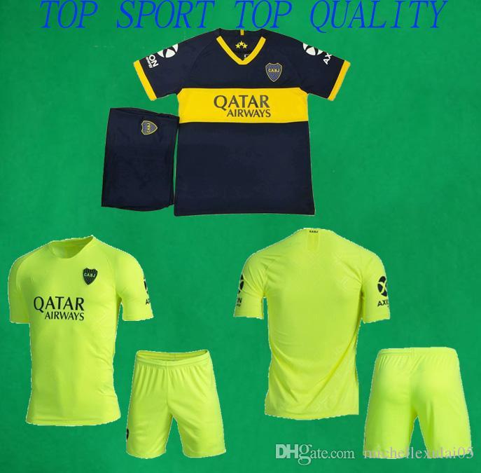 8579673084cd6d 2019 19 20 Boca Juniors Soccer Kits Home Third 2019/20 Pavon GAGO ...