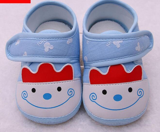 0246a9b5e41da Acheter Printemps Automne Nouveau Enfant Chaussures Chaussures Fond Mou  Chaussures Pour Enfants 0 1 Ans Bébé Chaussures De Bande Dessinée  Antidérapante ...