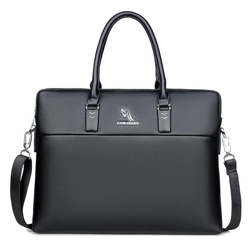 Briefcase Leather Handbag Men Bags Office Men Messenger Bags Man