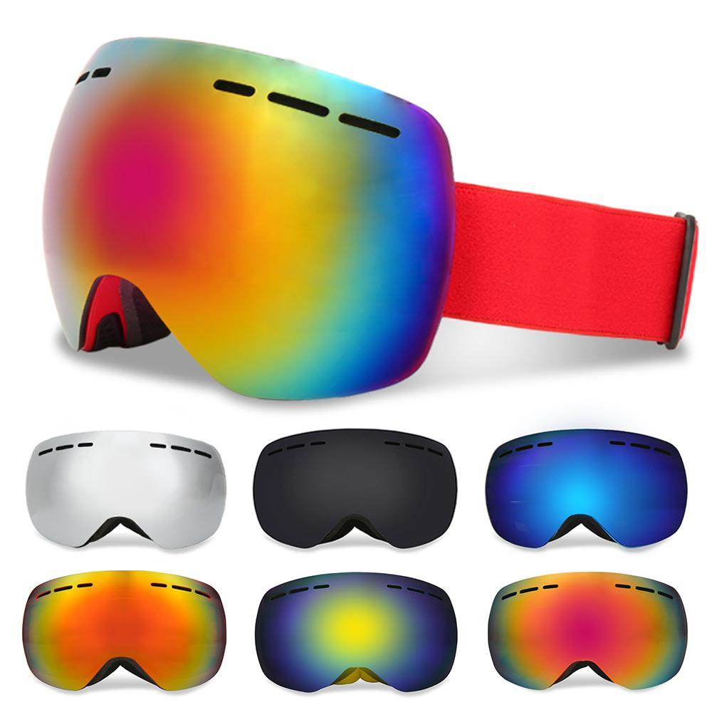 Compre YFXcreate Unisex Óculos De Esqui Camadas Duplas Anti Fog Grande  Máscara De Esqui Óculos De Esqui Das Mulheres Dos Homens De Neve Óculos De  Snowboard ... 4ae9191f80