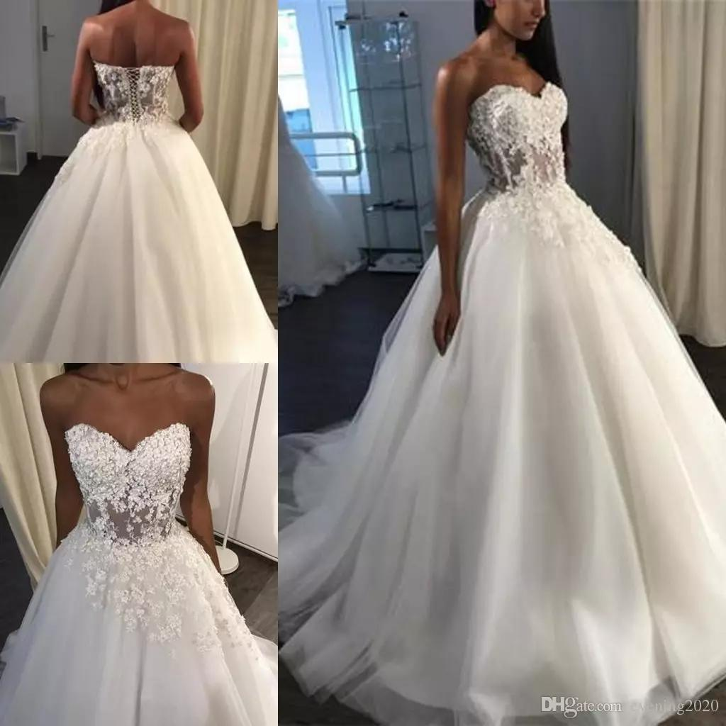 Noble Special Occasion Wedding Dresses Lace Appliques Sleeveless
