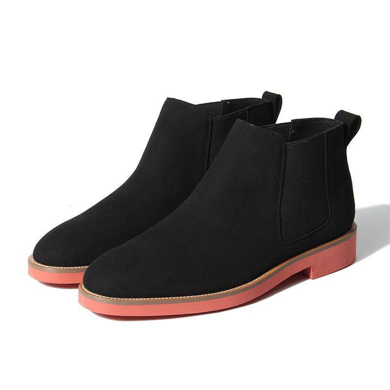 807ec905 Compre NIS New Men Chelsea Boots, Negro / Azul / Marrón / Verde Botín  Vintage, Plataforma Ligera Zapatos / Pisos Planos, Primavera Otoño Botas  Mujer A ...