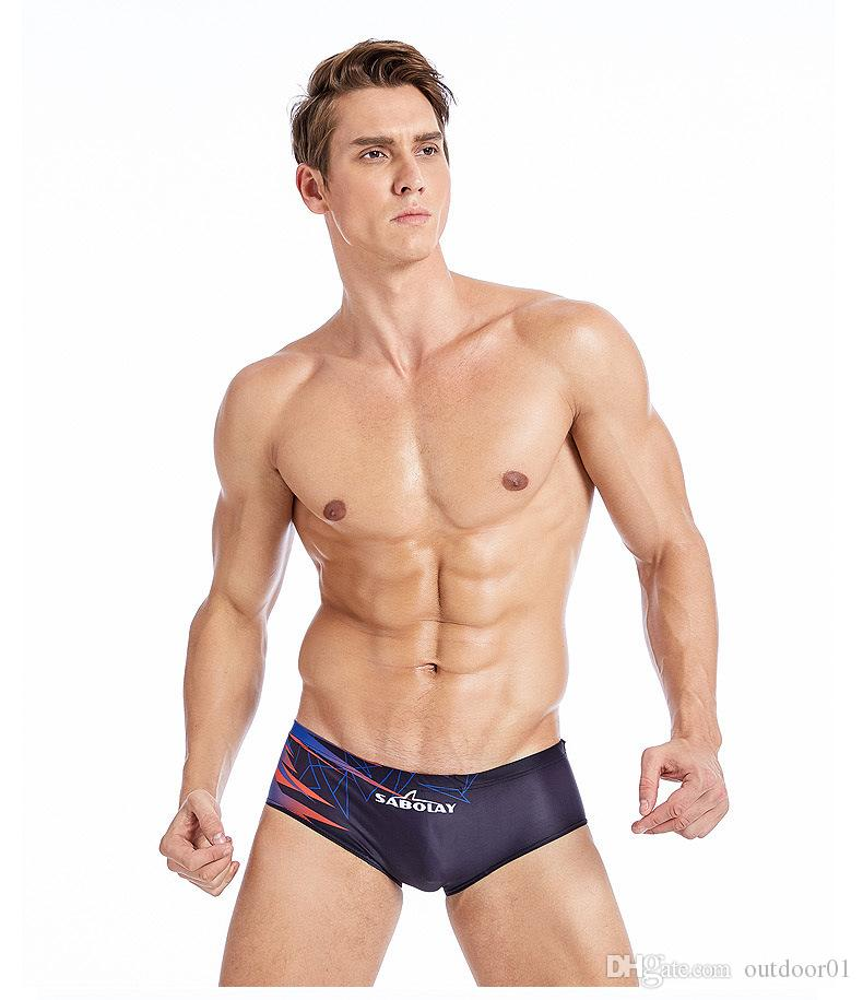dd5fb72455 men swim trunks men' s swimming brief beach swim shorts sexy men swimwear  swimsuit sunga bathing suit