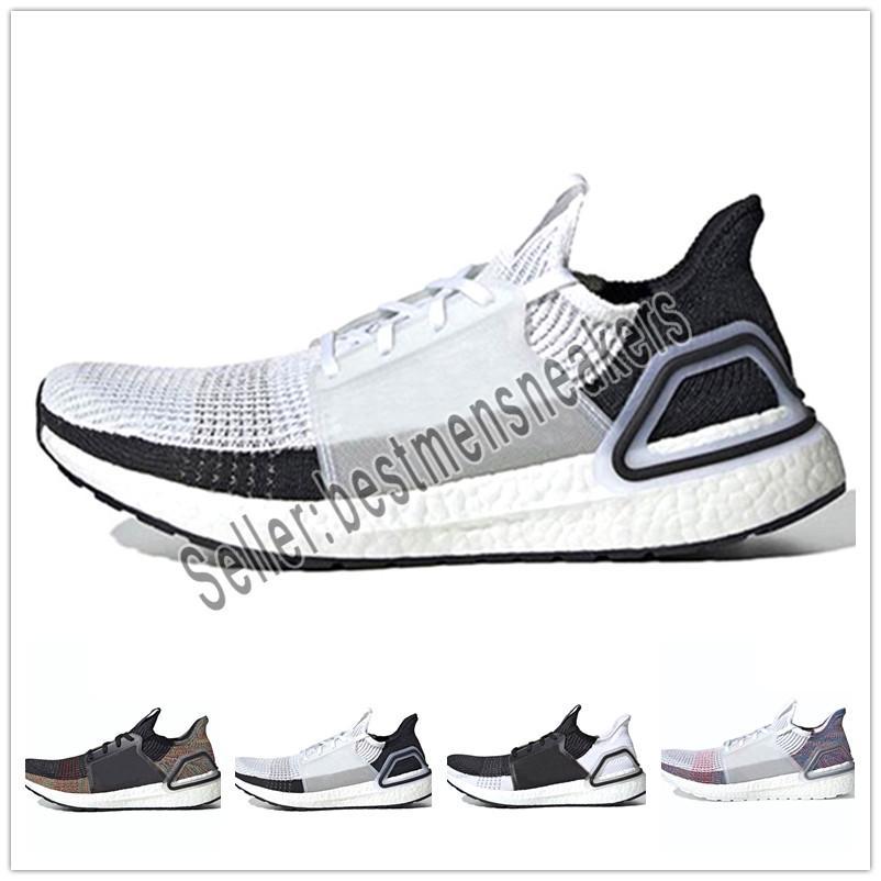 Designer shoes Adidas boost nmd 2019 Ultra Boost 19 Hombres Mujeres Zapatillas de running Ultraboost 5.0 Láser Rojo Pixel Oscuro Núcleo Negro