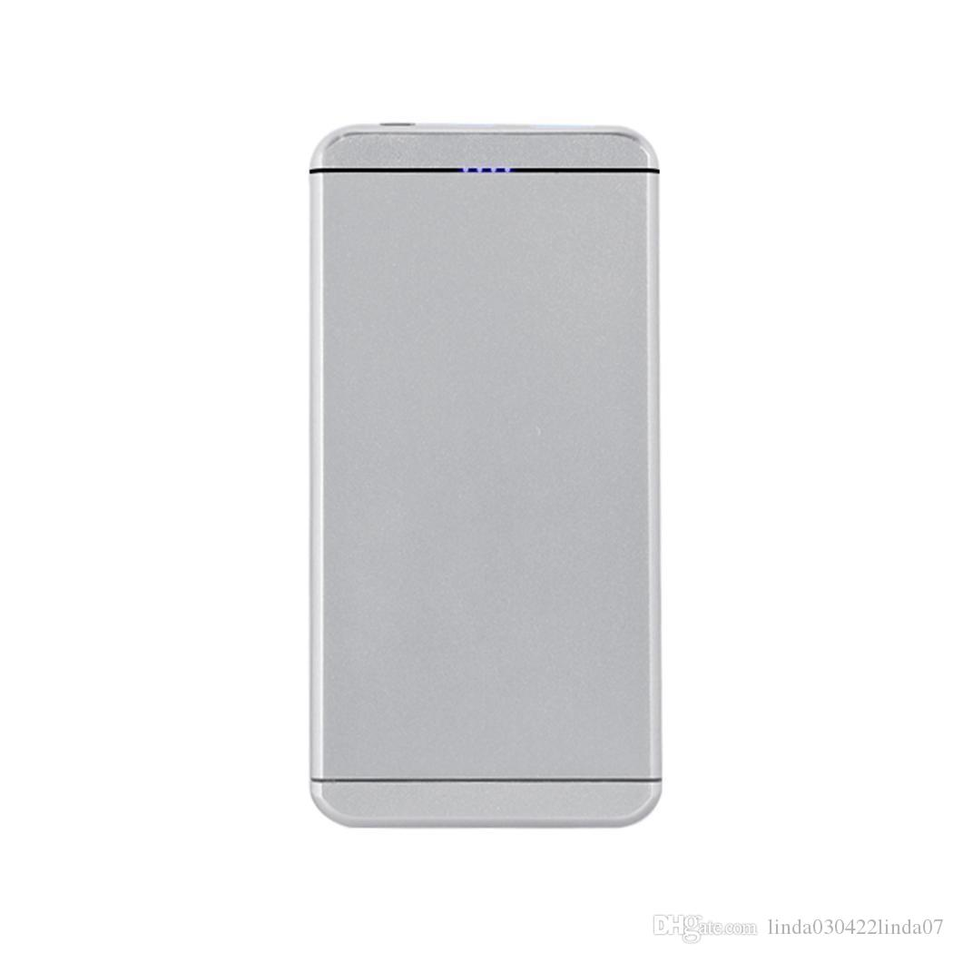 15000 mAh Fashion Portable Dual USB Output Power Bank External Battery Portable Mobile Phone Charger