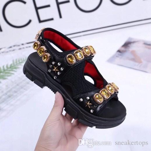 50ce87755b77 Hot Sell Brand Women Casual Gladiator Sandals Crystal Diamond ...