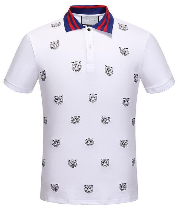 b725e7494 2019 2019 NEW Summer GC Mens Polyester Tiger Printed Polo Shirt T Shirt Men  Clothes Quick Dry DIY Logo Casual Shirt Size S XXXL Shipping Free From  Good_tech ...
