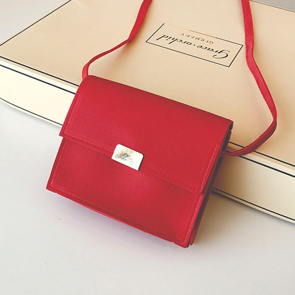 Cheap Fashion PinShang Women Handbag Cute Candy Colour PU Single Shoulder  Cross Body Bag Square Handbag Kids Bag Gift Bags For Children ZK10 Crossbody  ... 9128e076b3f9e
