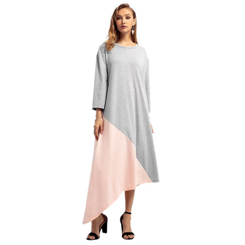 95ea38a6ff70 Compre Outono Inverno Modelos De Roupas Do Oriente Médio Das Mulheres  Muçulmano Tamanho Grande Vestido Árabe Robes De Primen, $38.04 |  Pt.Dhgate.Com