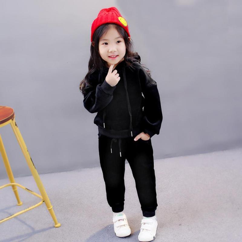 ab30e6f0f 2019 Newborn Baby Boys Girls Cute Costumes Kids Long Sleeve Hoodie Tops  Pants Casual Children Sports Clothes Christmas Gifts From Laurul, $20.96 |  DHgate.
