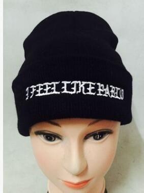 019f51ea976e1 Compre Marca Gorros De Punto Sombrero De Invierno Para Hombre Gorras Me  Siento Como Pablo Beanie Skullies Bonnet Sombreros De Invierno Para Hombre  Mujer ...