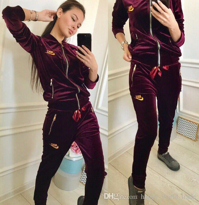sold worldwide top-rated sale online Designered Tracksuit women Luxuryed Sweat Suits Autumn Branded womens  Tracksuits Jogger Suits Jacket + Pants Sets Sporting Suit